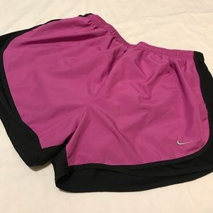 Purple Nike Dri Fit Shorts